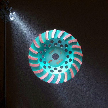 180mm turbo Diamond grinding wheel for floor coarse grinding