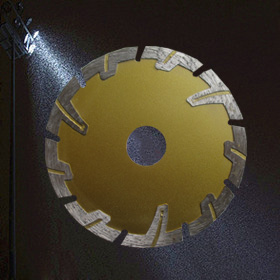 "4"" inch 105mm deep teeth  granite stone cutting diamond circular saw blade"