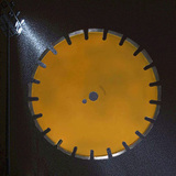 350*10mm walk-behind  Concrete road cutting diamond concrete asphalt saw blades