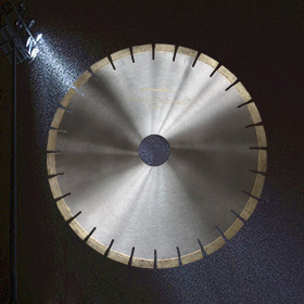 Sharp and durable 400*15mm circular cutting disc silent granite saw blade