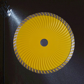 115mm continuous Diamond Blade with slot  for Ceramic Tile Cutting